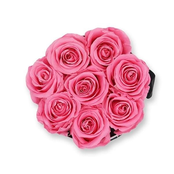 Rosenbox Infinity Rosen baby rosa | Flowerbox | Blumenbox | M Modern white