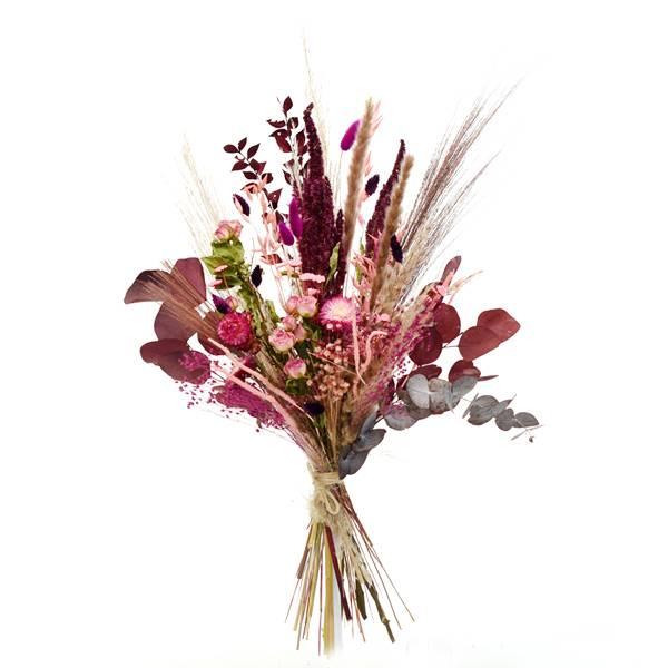 Trockenblumenstrauß Beerenzauber L | Trockenblumen rosa-pink-beere