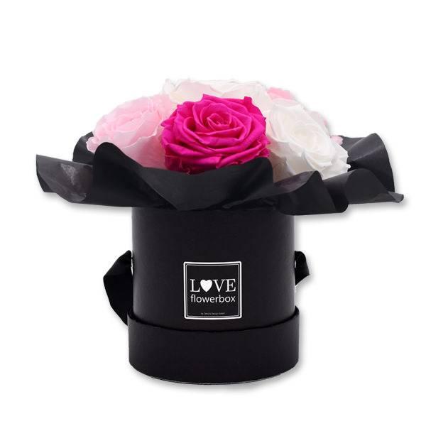 Love_Flowerbox_Kugel_Rund_Small_schwarz_Rosen_pure_white_bridal_pink_hot_Pink.jpg