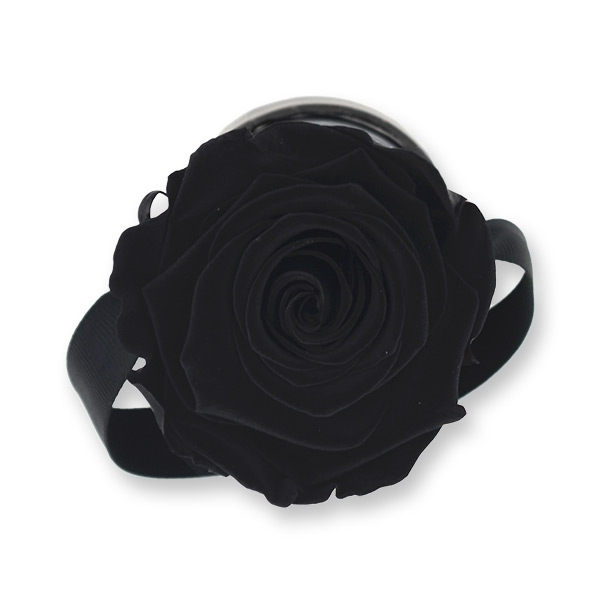 Rosenbox Infinity Rosen schwarz | Flowerbox | Blumenbox | XS Modern black