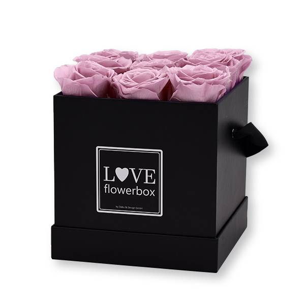 Flowerbox Modern | Medium | Rosen Mauve (Altrosa)