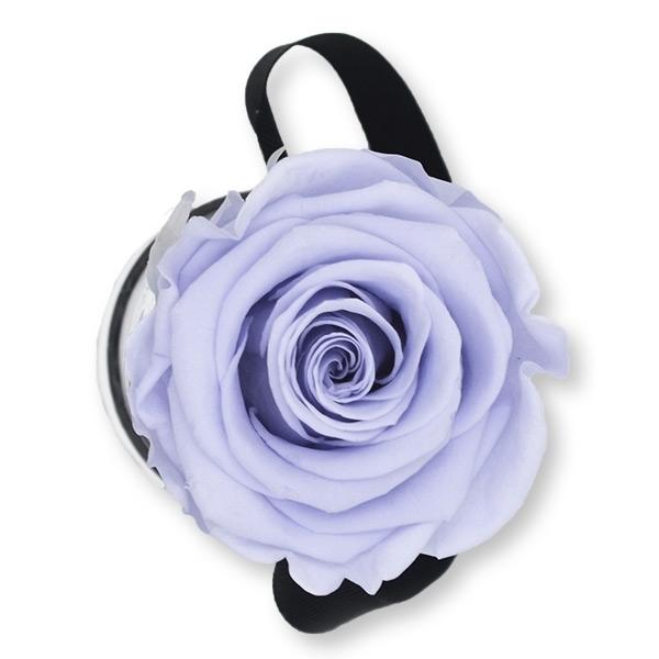 Rosenbox Infinity Rosen lavendel | Flowerbox | Blumenbox | XS Modern white