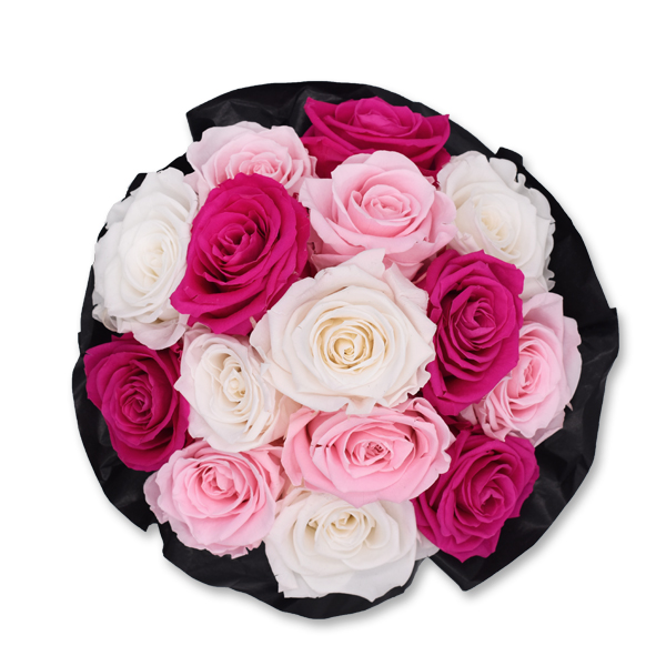 Bouquet | Medium | weiss-rosa-pink