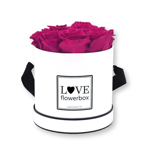 Flowerbox_rosenbox_blumenbox_rund_Medium_weiss_Infinity_Rosen_raspberry_himbeere.jpg