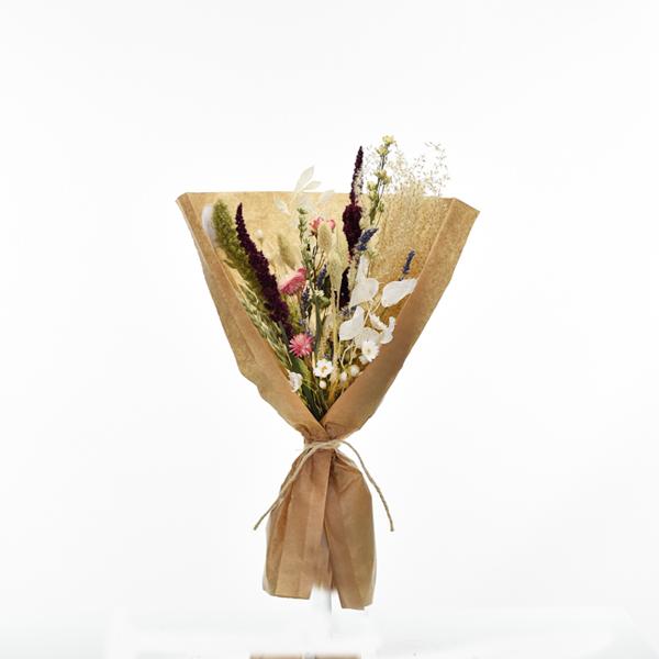 Trockenblumenstrauß Sommerliebe M | Trockenblumen bunt-pink-lila-grün