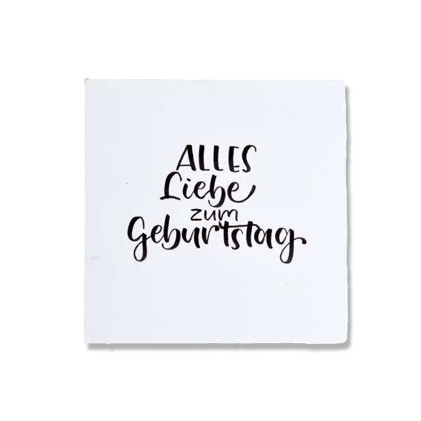 Bilderrahmen-Spruch-Geburtstag