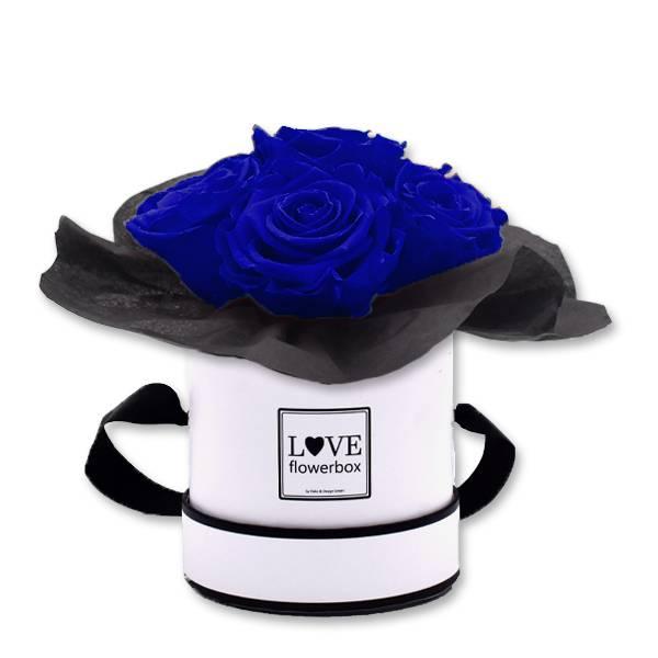 Flowerbox_Kugelfoermig_bouquet_Rund_Small_weiss_Infinity_Rosen_dark_blue_dunkelblau.jpg