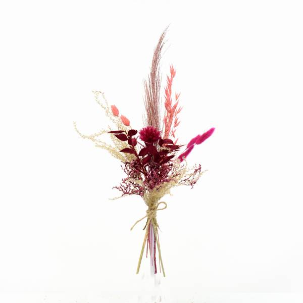 Trockenblumenstrauß Beerentraum S | Trockenblumen natur-koralle-pink-beere