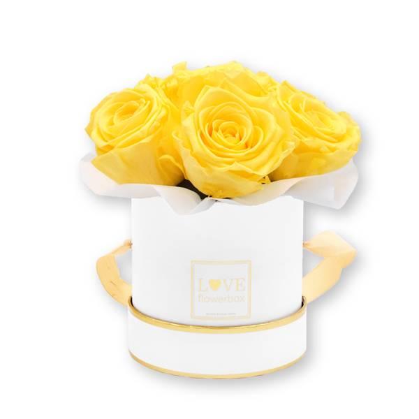 Flowerbox_rosenbox_blumenbox_rund_Small_weiss_gold_Bouquet_Infinity_Rosen_peach_aprikot_1.jpg