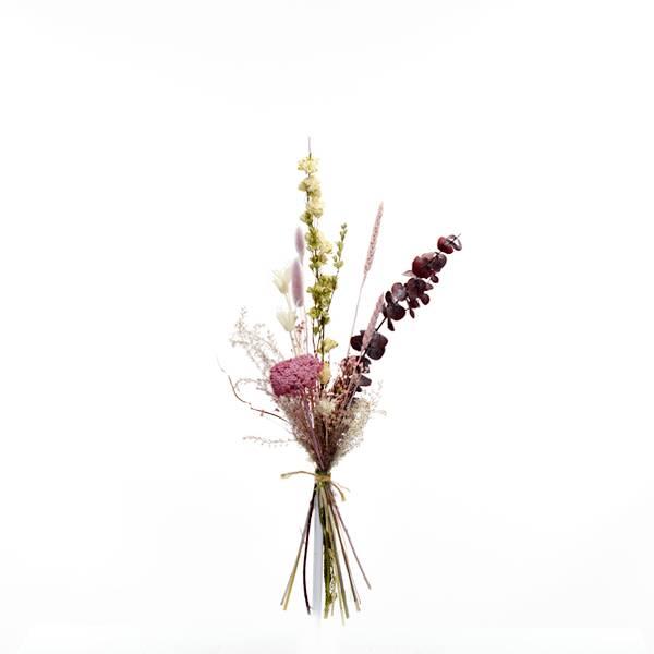 Trockenblumenstrauß Naturschönheit S | Trockenblumen altrosa-beere-pastell
