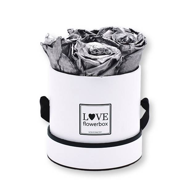 Flowerbox_rosenbox_blumenbox_rund_Small_weiss_Infinity_Rosen_silver_silber.jpg
