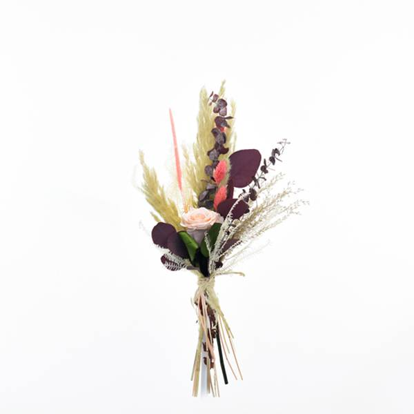 Trockenblumenstrauß Rosenglück M