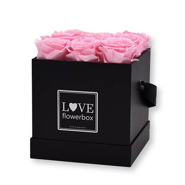 flowerbox_rosenbox_blumenbox_eckig_Medium_schwarz_Infinity_Rosen_bridal_pink_rosa_zartrosa.jpg