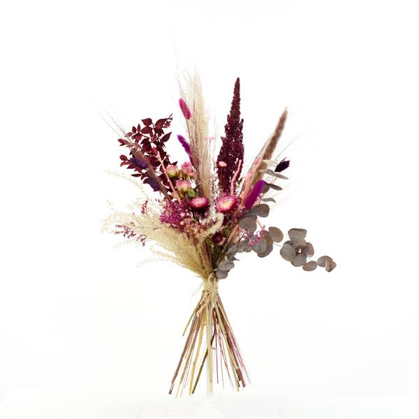 Trockenblumenstrauß Beerenzauber M | Trockenblumen rosa-pink-beere
