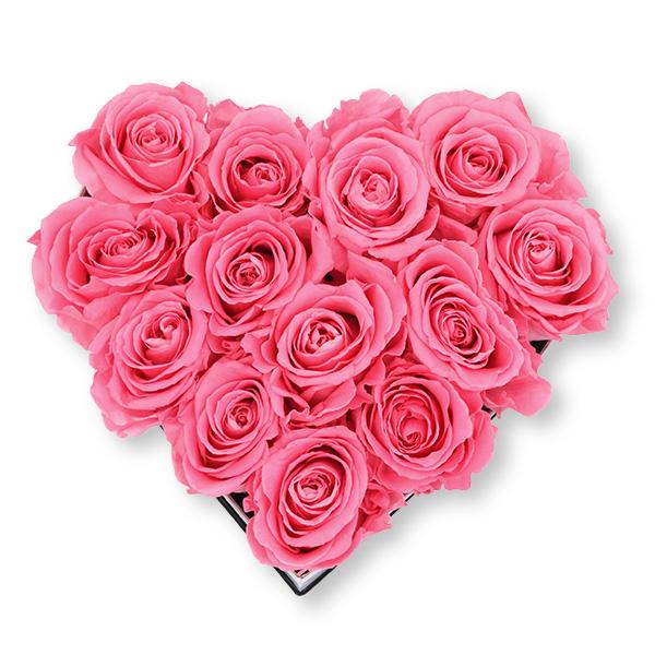 Herzbox gold | Medium | Baby Pink (Rosa)
