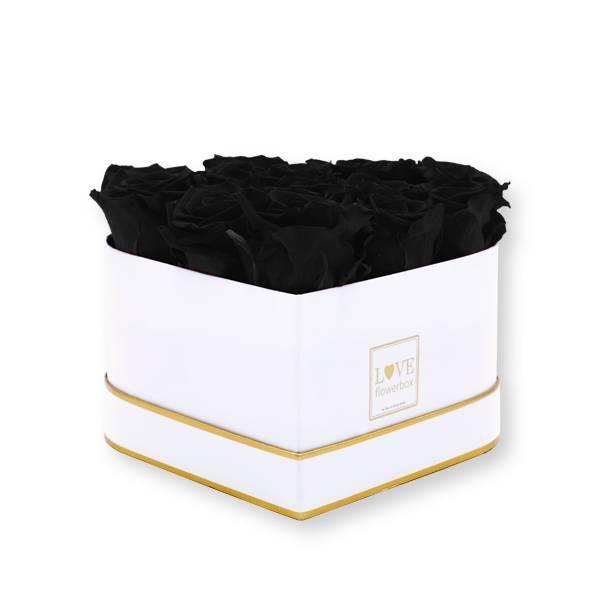 Flowerbox_rosenbox_blumenbox_Herz_herzfoermig_Medium_weiss_gold_Infinity_Rosen_black_schwarz.jpg