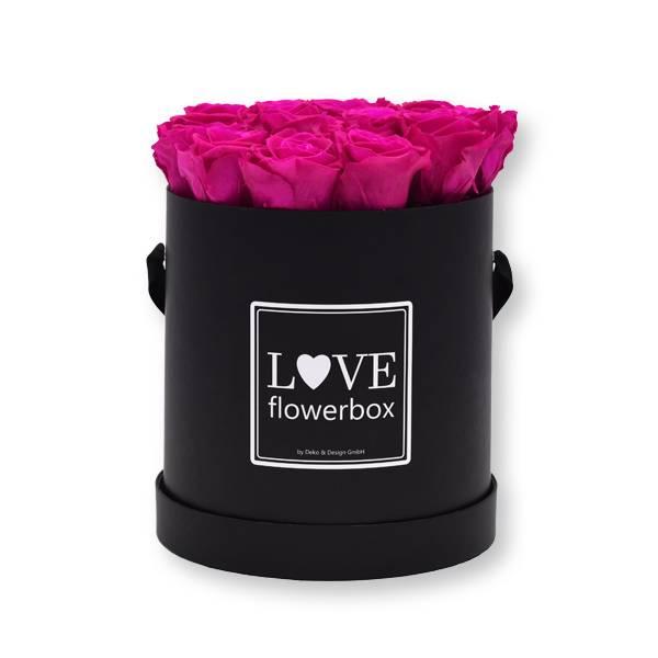 Flowerbox Modern | Large | Rosen Hot Pink (Pink)