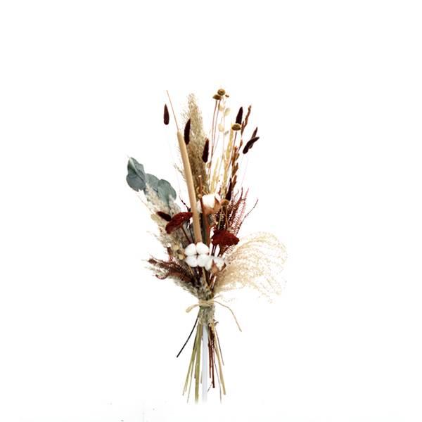 Trockenblumenstrauß Naturwald M | Trockenblumen natur-braun