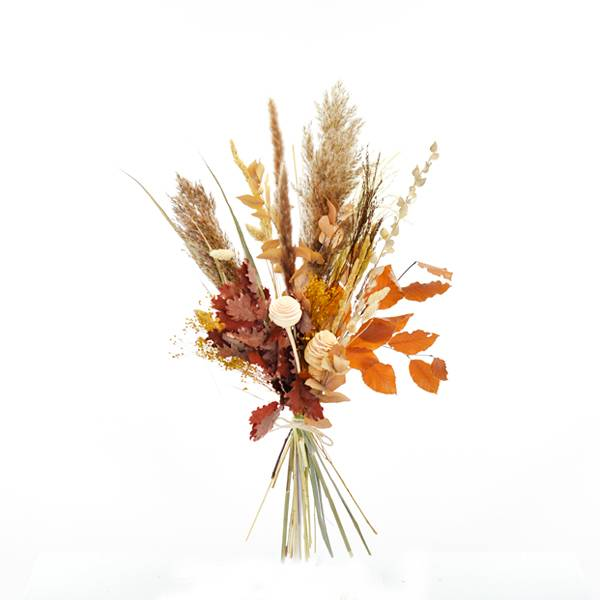 Trockenblumenstrauß Herbstmoment M   Trockenblumen natur-braun