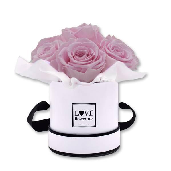 Flowerbox Bouquet | Small | Rosen Mauve (Altrosa)