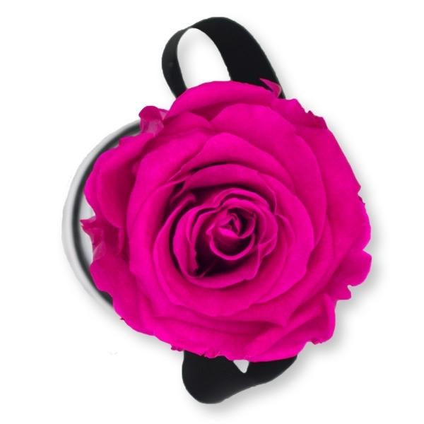 Rosenbox Infinity Rosen pink   Flowerbox   Blumenbox   XS Modern white
