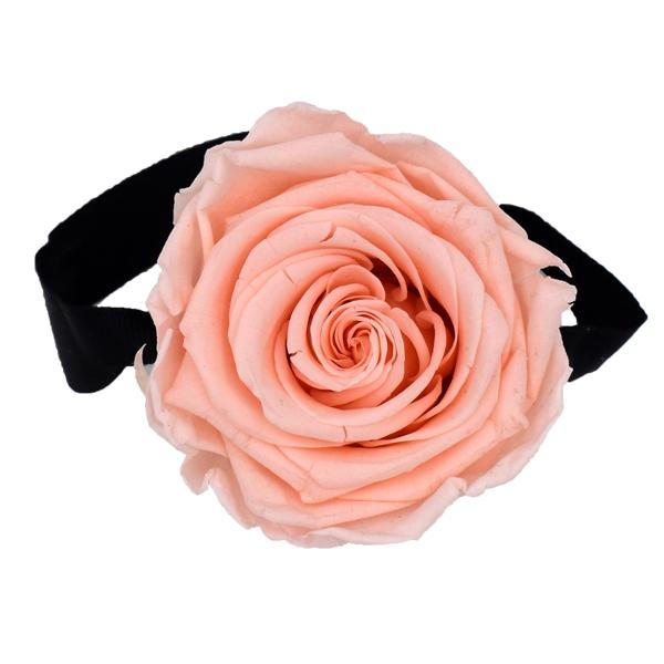 Rosenbox Infinity Rosen pastell rosa | Flowerbox | Blumenbox | XS Modern black