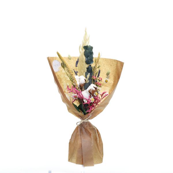 Trockenblumenstrauß Tausendschön M | Trockenblumen natur-bunt