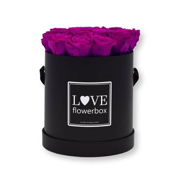 Flowerbox_rosenbox_blumenbox_rund_Large_schwarz_Infinity_Rosen_purpur_lila.jpg