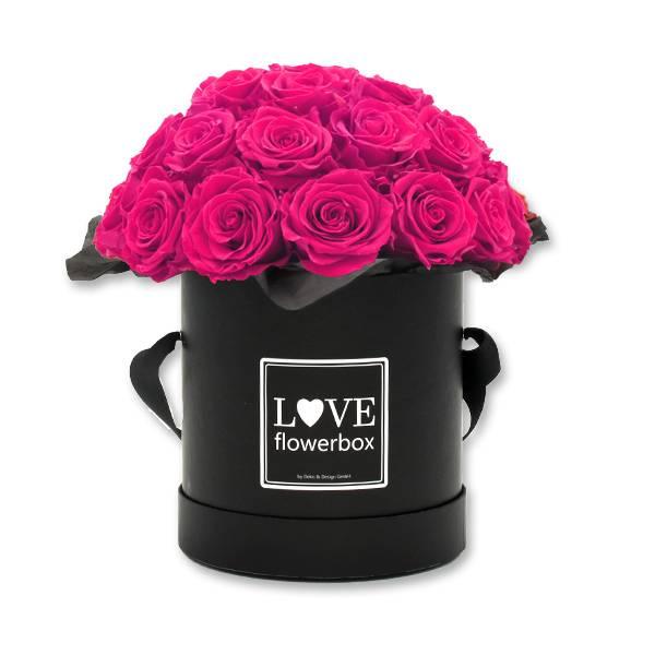 Flowerbox_Kugelfoermig_bouquet_Rund_Large_Schwarz_Rosen_hot_pink.jpg