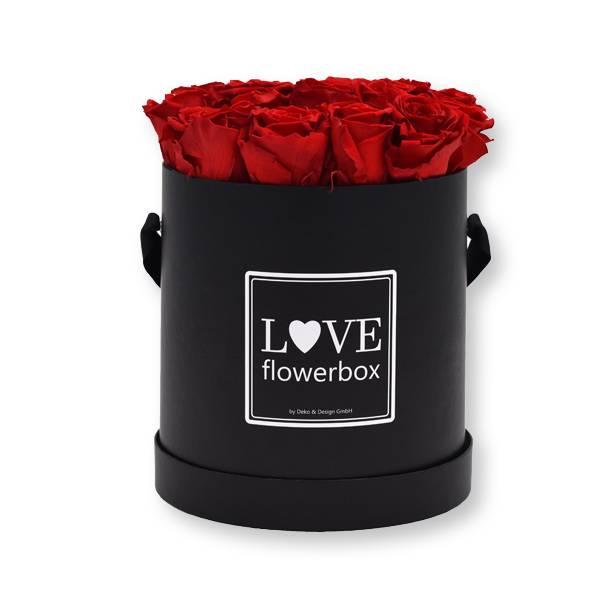 Flowerbox_rosenbox_blumenbox_rund_Large_schwarz_Infinity_Rosen_vibrantred_rot.jpg