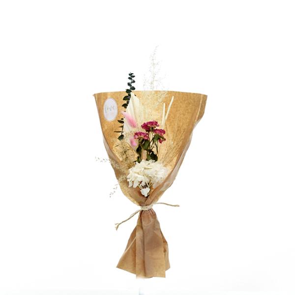Trockenblumenstrauß Seelenbalsam S | Trockenblumen weiss-rosa-pink-grün