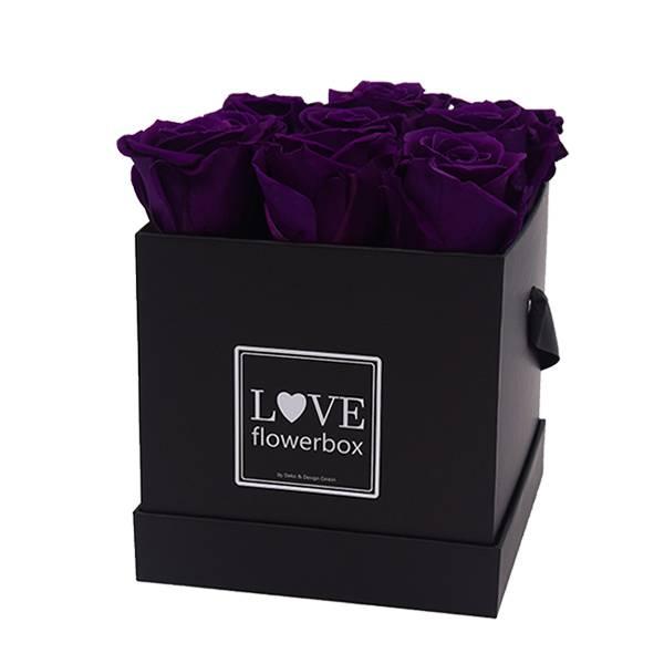 Flowerbox Modern | Medium | Rosen Lilac (Aubergine)