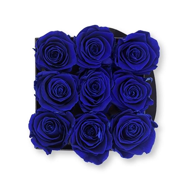 Flowerbox Modern | Medium | Rosen Dark Blue (Dunkelblau)