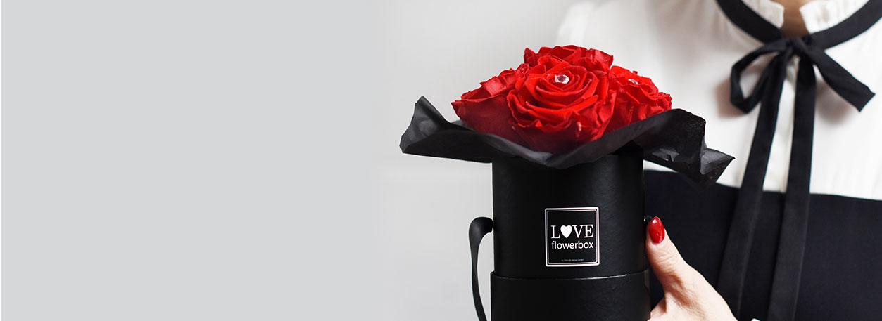 Weihnachten | Love Flowerbox - Echte Infinity Rosen in der Rosenbox ...
