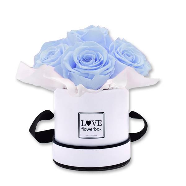 Flowerbox_Kugelfoermig_bouquet_Rund_Small_weiss_Infinity_Rosen_cool_lavender_hellblau_blau_lavendel.jpg
