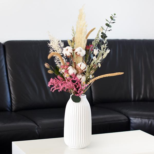 Trockenblumenstrauß Tausendschön L | Trockenblumen natur-bunt