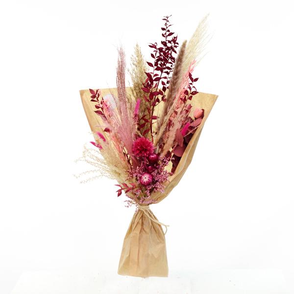 Trockenblumenstrauß Beerentraum L | Trockenblumen natur-koralle-pink-beere