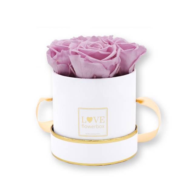 Flowerbox_rosenbox_blumenbox_rund_Small_weiss_gold_Infinity_Rosen_mauve_altrosa.jpg