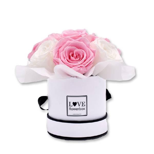 Love_Flowerbox_Kugel_Rund_Small_weiss_Rosen_pure_white_bridal_pink.jpg