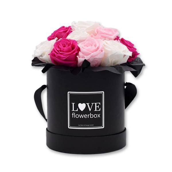 FlowerBox_Rosenbox_Bouquet_schwarz_Infinity_Rosen_Mix_weiss_rosa_pink.jpg