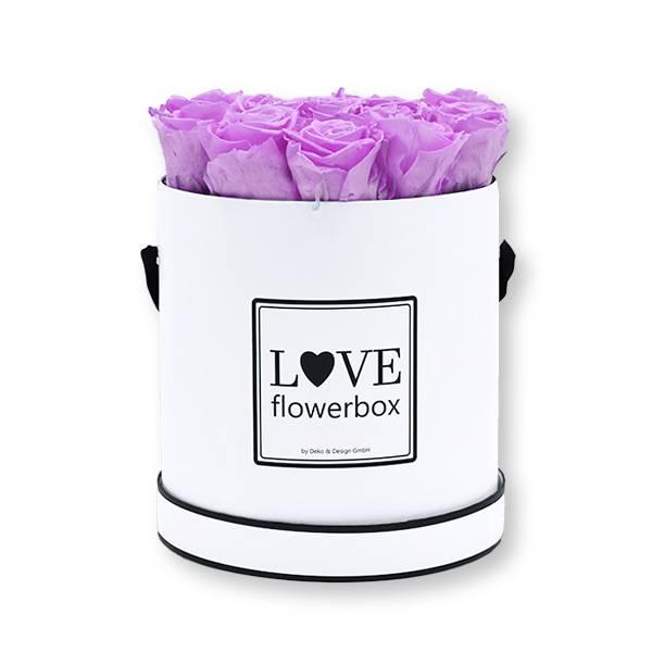 Flowerbox_rosenbox_blumenbox_rund_Large_weiss_Infinity_Rosen_babylili_flieder.jpg