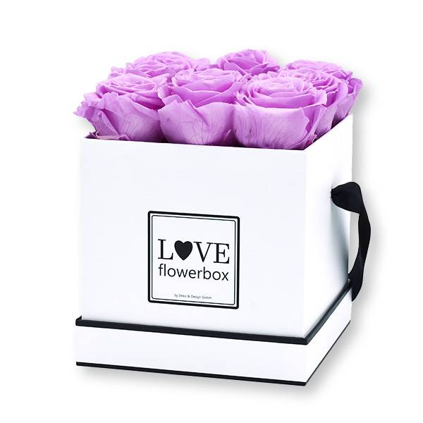 flowerbox_rosenbox_blumenbox_eckig_Medium_weiss_Infinity_Rosen_Baby_lilli_flieder.jpg