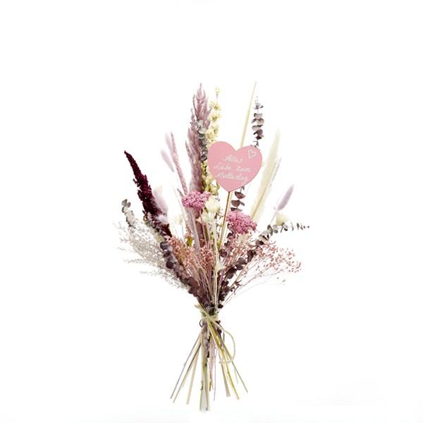 Trockenblumenstrauß Naturschönheit M Muttertag