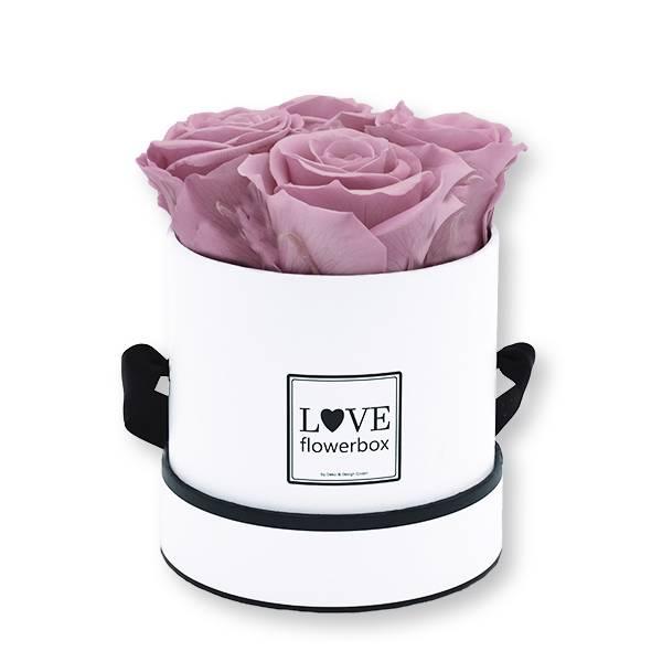 Flowerbox_rosenbox_blumenbox_rund_Small_weiss_Infinity_Rosen_mauve_altrosa.jpg