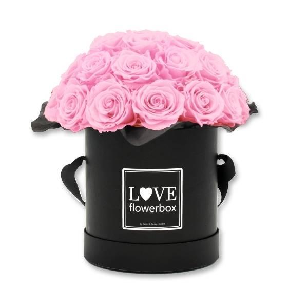 Flowerbox Bouquet   Large   Rosen Bridal Pink (Hellrosa)