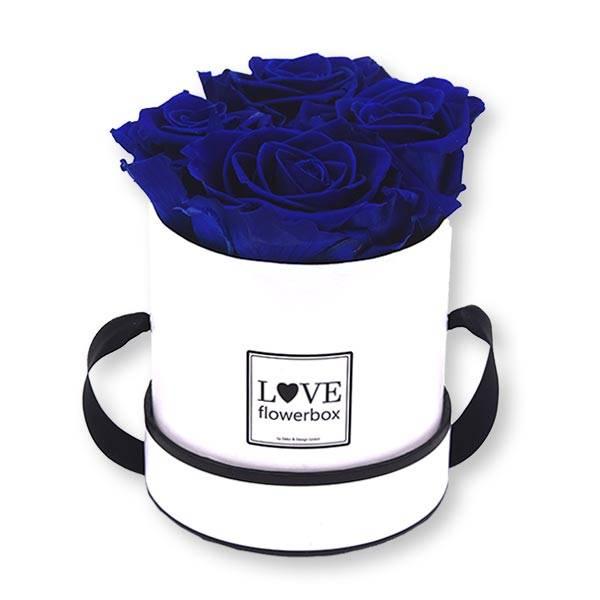 Flowerbox_rosenbox_blumenbox_rund_Small_weiss_Infinity_Rosen_DarkBlue_dunkelblau.jpg