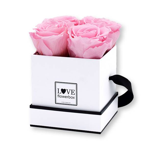 Flowerbox Modern | Small | Rosen Bridal Pink (Hellrosa)