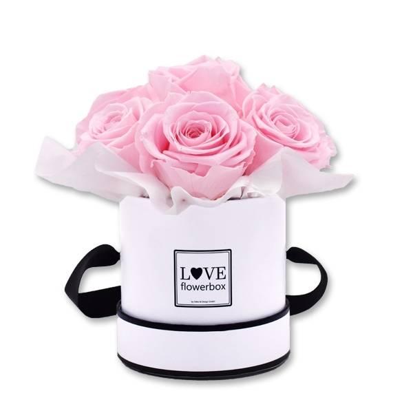 Flowerbox Bouquet | Small | Rosen Bridal Pink (Hellrosa)